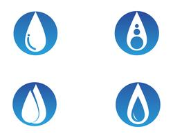 Water nature logo and symbols template icons app