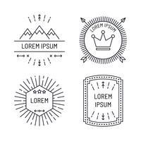 Insamling av etikettdesign