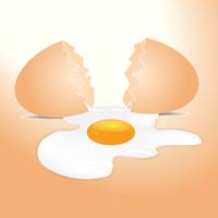 Zerbrochenes Ei