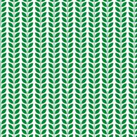 Green leaf pattern design template