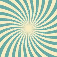 Circus graphic radius effects green retro color and light brown with halftone for comic background.