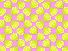 Trendy Lime Summer Pop Background Vector