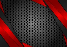 Vector geometric red and black abstract background. Texture design for your business