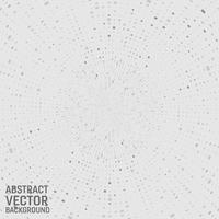 Moderner geometrischer quadratischer abstrakter Hintergrund des grauen Farbvektors. Geometrisches Muster im Halbton-Stil