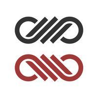 Ornamental Infinity Logo Template Illustration Design. Vector EPS 10.