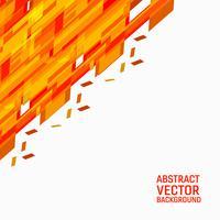 Abstrait géométrique de vecteur orange. Nouvelle texture de fond avec un design d'espace de copie pour votre entreprise.