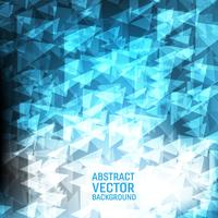 Fondo abstracto geométrico del vector azul claro. Nuevo diseño de fondo de textura poligonal para su negocio.
