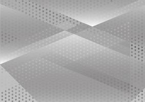 Vector de fondo abstracto geométrico blanco y gris. Diseño de texturas para tu negocio.