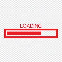 Loading bar icon Vector Illustration