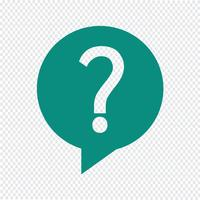 Question icon vector illustration