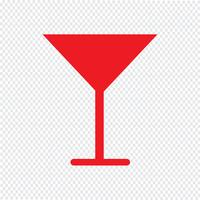 Drink pictogram vectorillustratie