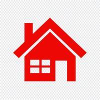 icona casa illustrazione vettoriale