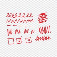 Doodle line icon vector illustration