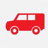 Auto-Symbol-Vektor-Illustration
