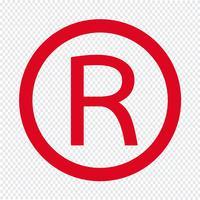 Marca Registrada icon Ilustração Vetorial