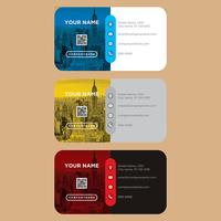 Colorful Business Card Collection