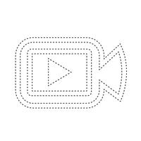 Icono de cámara de cine