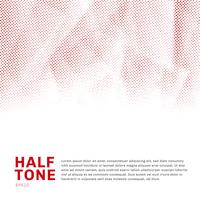 Abstract red halftone template low poly trendy on white background with copy space. You can use for website, brochure, flyer, cover, banner, etc. vector