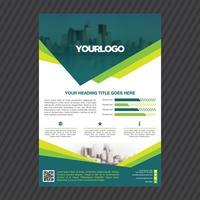 Plantilla de folleto - negocio profesional