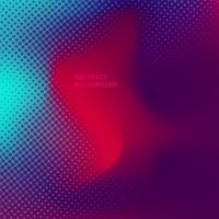 Abstract blurred gradient background trendy pink, purple, and blue vibrant colors with halftone texture.