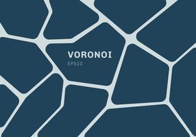 Abstrait de diagramme de voronoi bleu foncé. Fond et papier peint en mosaïque géométrique.