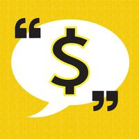 Dollar sign money icon