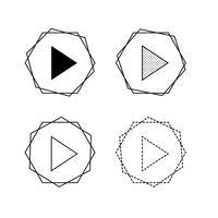 Vektor Pfeilsymbol Abbildung