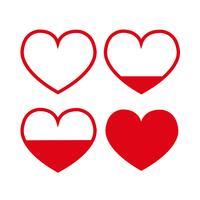 Idée de carte de Saint Valentin