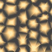 Fondo poligonal de lujo