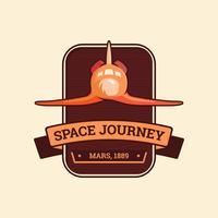 Space Journey-badge