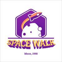 Hexagonal Space Badge