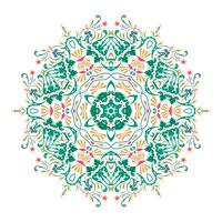 Conception d'illustration vectorielle floral Mandala