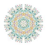 Vector Mandala illustratieontwerp