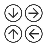 Download and Upload Arrow Icon Logo Template Illustration Design. Vector EPS 10.