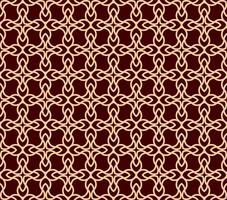 Vector seamless pattern. Modern stylish texture.linear ornament