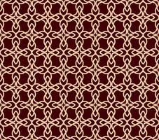 Padrão sem emenda de vetor. Ornamento elegante moderno texture.linear