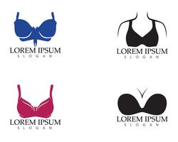 Set di diversi reggiseni push up isolati sopra