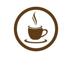 Tasse à café Logo Template vector icon design