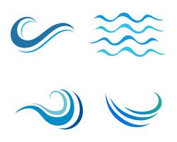 Watergolf pictogram vector
