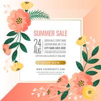 Vector Summer Sale Banner