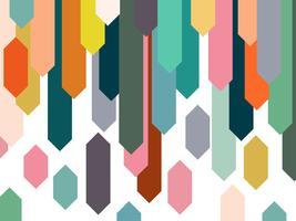 Kleurrijke elementen abstracte achtergrond.