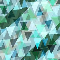 Color triangle seamless background. vector