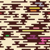 Abstract geometric background seamless camouflage. vector