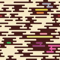 Fondo geométrico abstracto de camuflaje sin fisuras.