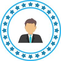 Vector zakenman pictogram