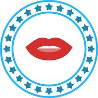 Vector Lips Icon