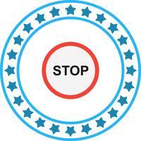 Vector stoppictogram