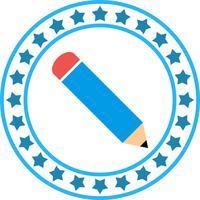 Vector icono de lápiz