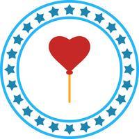Icona di impulso del cuore di vettore