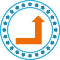 Vector Upward Icon